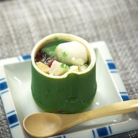 笹羊羹と筍入り豆乳アイスをギフトセットにした徳用