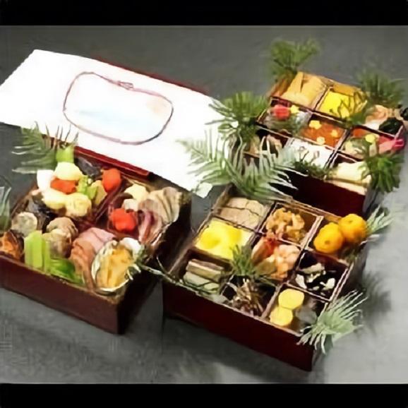 【数量限定】懐石宇津房 おせち三段重 地元で定評ある日本料理店が手掛けた本格和風おせち02