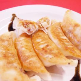 栃木県の郷土料理しもつかれの旨味を餃子に入れました。
