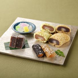 和菓子村上の定番人気商品を詰め合わせた、贈り物にぴったりのセットです。