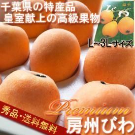 びわ 千葉 房州びわ 送料無料 L~3Lサイズ  超大玉 化粧箱