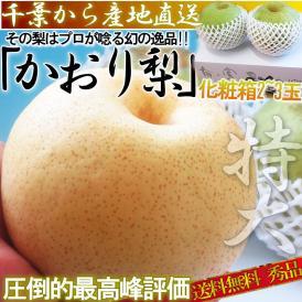 かおり梨 Premium 2~3玉 秀品限定 千葉県産 贈答品 生産量の少ない幻の梨!爽やかな甘い香りと優秀な味わい