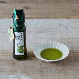 新潟の特産野菜を使用した緑色のラー油