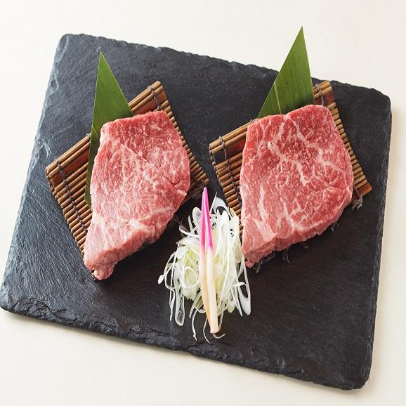 【送料無料】黒毛和牛A5赤身ステーキ 250g(125g×2)02