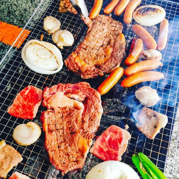 肉まみれ!!BBQセット(4人前)総重量1.5kg!!お一人様あたり1745円03