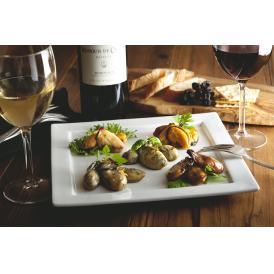 広島牡蠣と宮島ムール貝の食感と味わいを楽しめる逸品です。