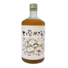 平群完熟梅原酒のマイルドタイプ。甘めに仕上げました。