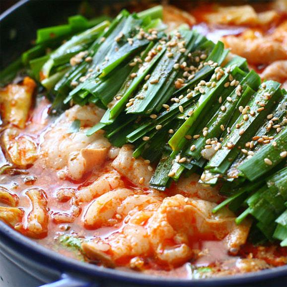 和牛もつ鍋 韓国チゲ味 250g01