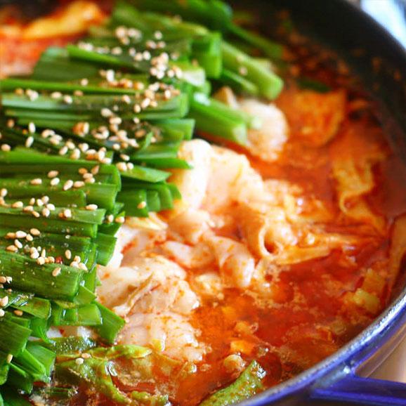 和牛もつ鍋 韓国チゲ味 250g02