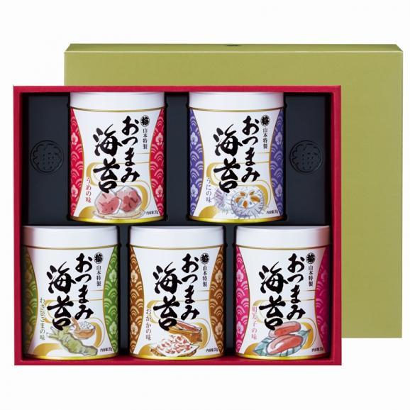 おつまみ海苔5缶詰合せ01