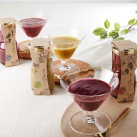 食べるぶどうジュース ギフトボックス(3本)
