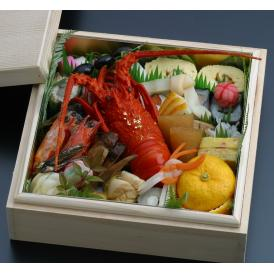 京都伝統のおせち豪華(上)一段重