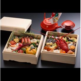 【京料理屋完全手作り生おせち!】京都伝統のおせち豪華(上)二段重(52種)
