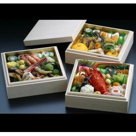 【京料理屋完全手作り生おせち!】京都伝統のおせち豪華(上)三段重(60種)
