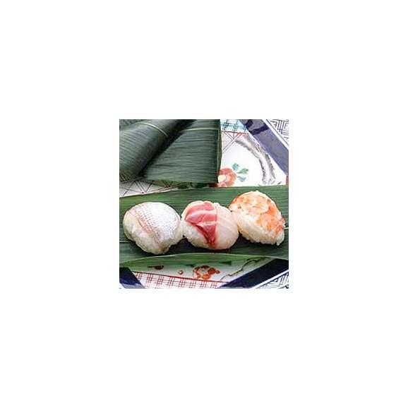 ひとくちサイズ握り 笹巻寿司 穴子01