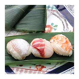 ひとくちサイズ握り 笹巻寿司 海老