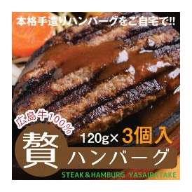 贅ハンバーグ(広島牛100%) 各120g 3個入り