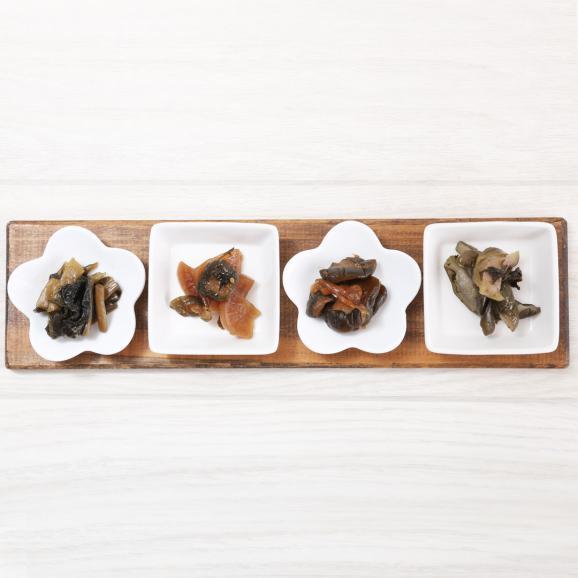プレミアム漬物6種セット<古漬4種、梅ぼし2種>03