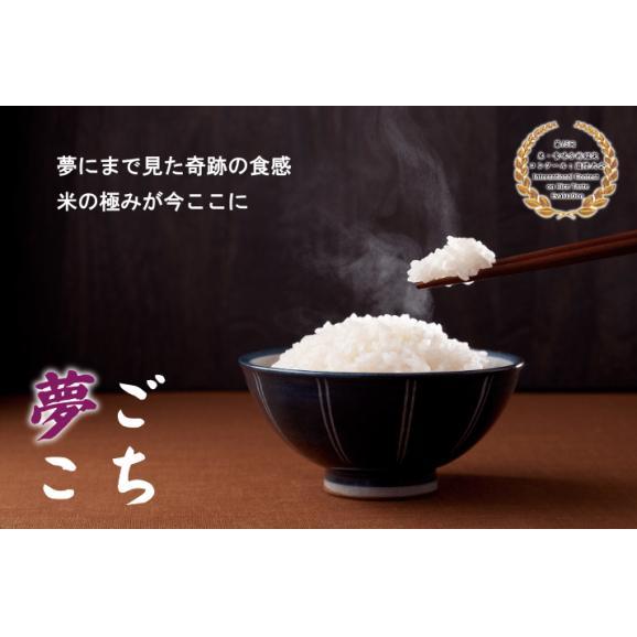 送料無料!【無農薬米】夢ごこち 5キロ 3個セット お好み精米!(玄米・白米・7分・5分)03