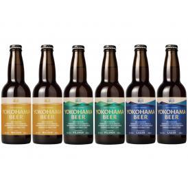 横浜ビール JABC金銀銅セット 330ml (3種各2本の6本セット)[大人気クラフトビール][贈り物ギフトに][数量限定][送料無料]