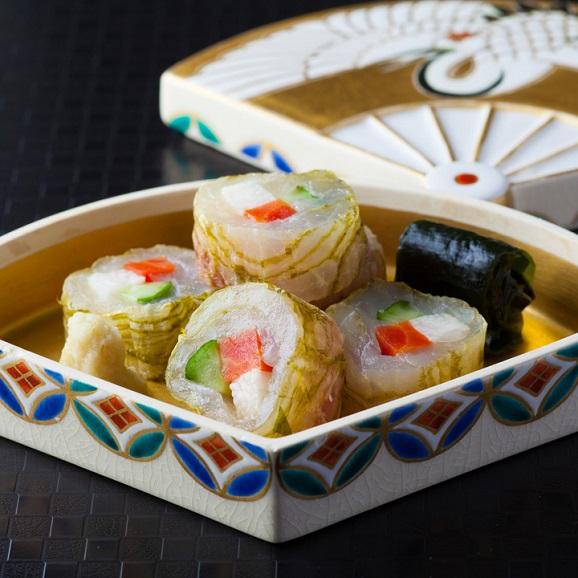 日本料理 湯木のおせち 折箱入 2段重   「輝」 全42品  3人前02