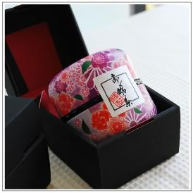 静岡高級煎茶 なつめ缶(紫)1缶箱入【80g】