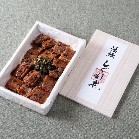 活鰻しぐれ煮 桐箱詰め04