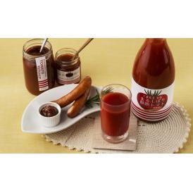 塩など添加物を一切加えず100%桃太郎プレミアムからできたトマトジュースは、濃厚という言葉がぴったり