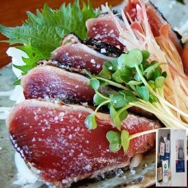 【送料無料】完全わら焼き・まさに土佐の味 「龍馬タタキ」2節(約700g)