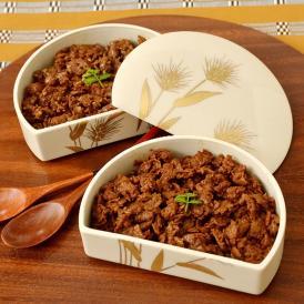 お肉や貝のような食感の小麦グルテンを甘辛く炊いたしぐれ煮の「禅」と清水焼の器のセットです。