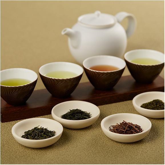 日本の茶産地 銘茶九種詰め合わせ01