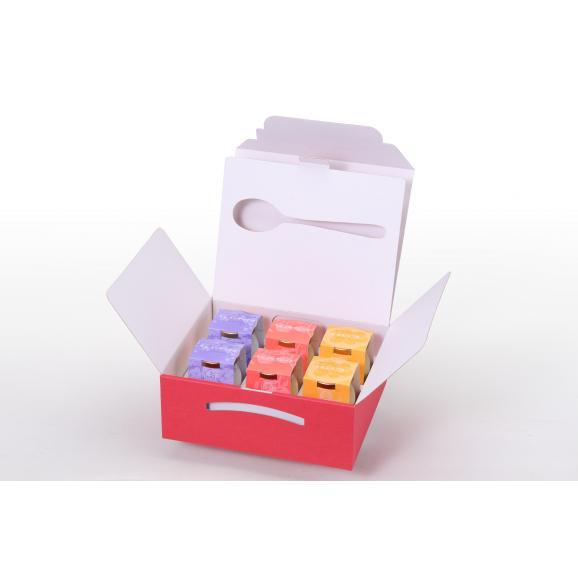 【送料無料】りんごのヴェール・カシスのティアラ・あおもりプリン各2個セットギフト02