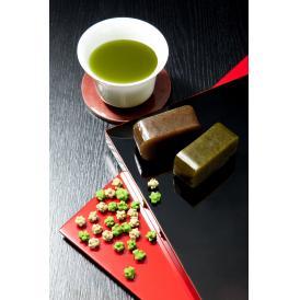 茶匠が作り上げた奥八女茶と菓子職人がこだわりの原料を用いて作り上げた「ようかん」「金平糖」のお詰合せ