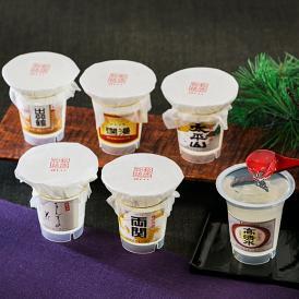 秋田県内の6つの酒蔵の協力のもと作り上げた、日本酒の風味を味わえるゼリー。凍らせても◎