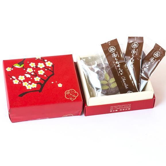 湯之元せんべいchocolat(ショコラ)12枚01