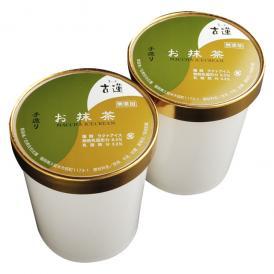 古蓮お抹茶アイスクリーム750ml