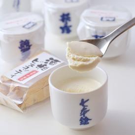 滋賀の地酒とその酒粕で作った生チーズケーキ、それぞれの銘柄で味の違いがあります。