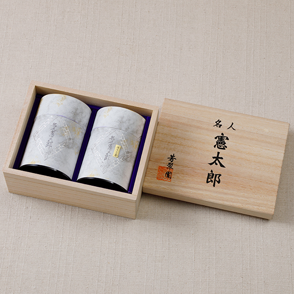 名人憲太郎詰合せ 芳翠園 HOSUIEN 一番茶 水出しOK04