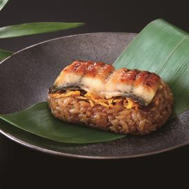 食べきりサイズで深い味わい。 もち米の食感と鰻の香ばしさが食欲をそそります。
