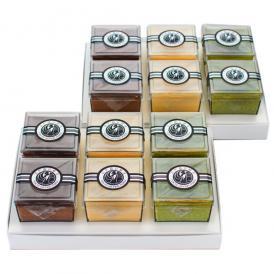 ギフト袋2枚とラッピングリボン付き【プレーン・チョコ・抹茶3種類の2個ずつ】 計6個入×2箱