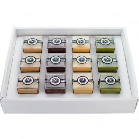 人気の組み合わせ4種類(プレーン3・紅茶3・チョコ3・抹茶3)計12個入