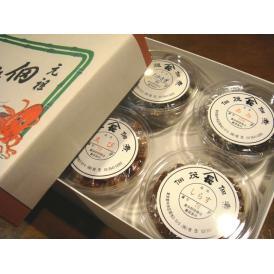 佃茂の佃煮カップ4ケ入2120円