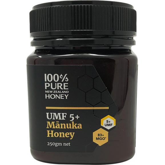 ニュージーランド産マヌカハニー UMF5+ 250g01