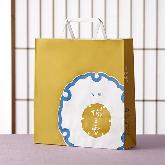 献上名菓 阿わ雪 友禅化粧箱3本入り詰め合わせ02