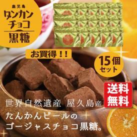 チョコ黒糖(たんかん)15個セット