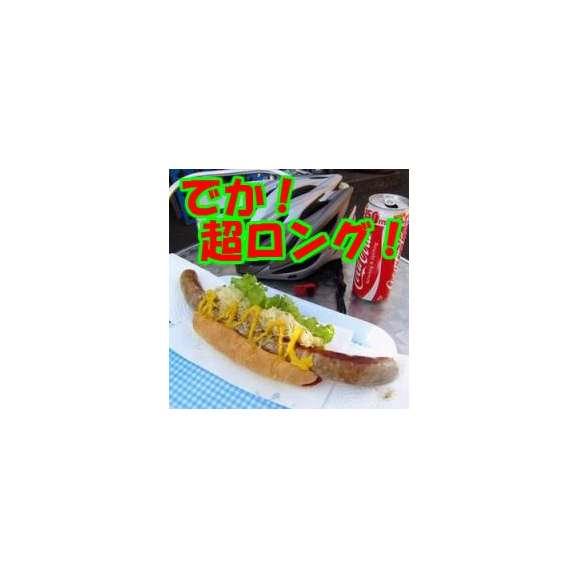 【ビッグ生ソーセージ】「リングイッサMEGA45」/320g(45cm)×5本1.6kg/ビッグソーセージ/ロング/ジャンボ/メガ/粗挽/粗びき/あらびき