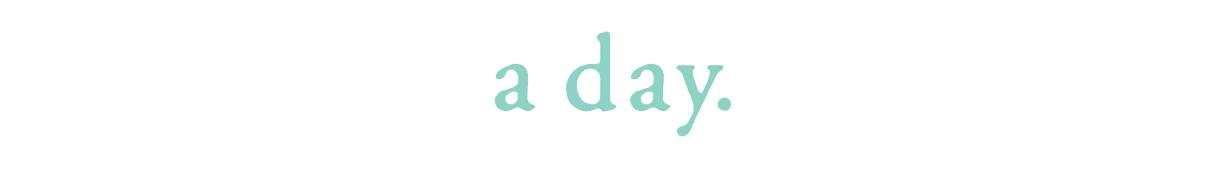 a day.