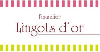 フィナンシェ専門店 Lingots d'or